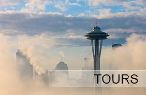 Space Needle Fog | Kush Tourism