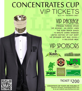 VIP Concentrate Cup | Kush Tourism