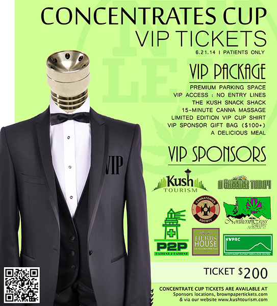 VIP Concentrate Cup Kush Tourism