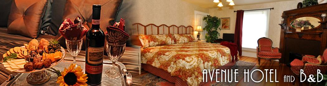 avenue hotel bandb
