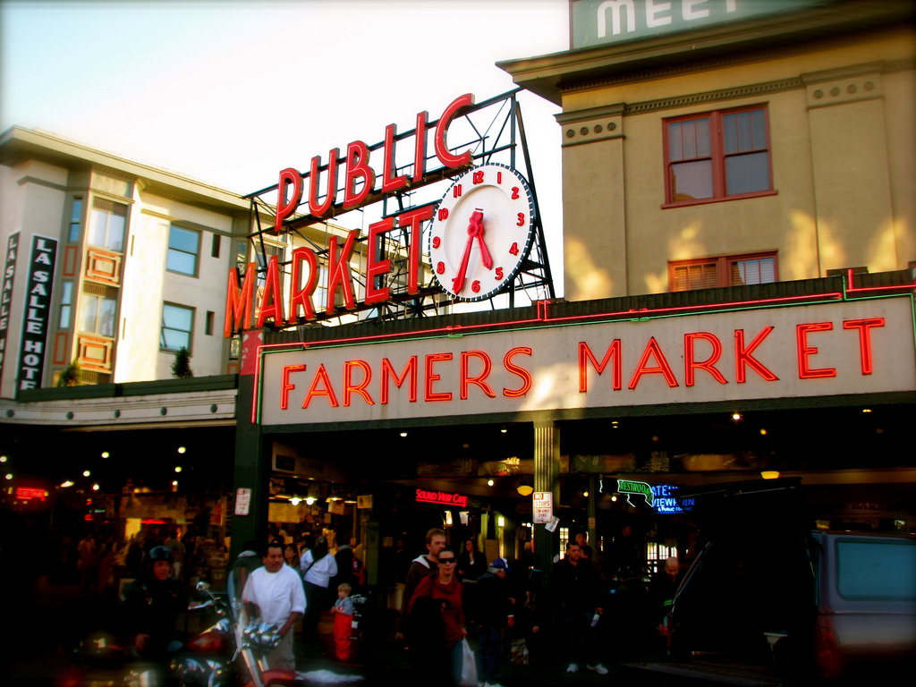 Pike Place Market Seafood Restaurant Seattle Best 2017