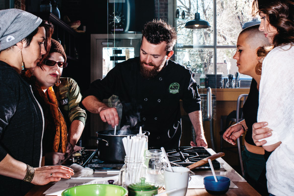cannabis cooking class