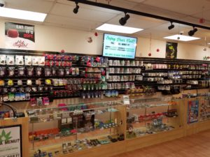Kush 21 in Burien certainly is in the holiday spirit!