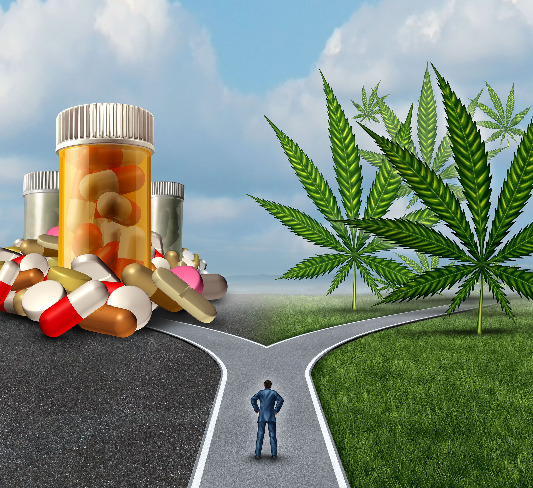 Out With The Opioids, In With The Cannabis
