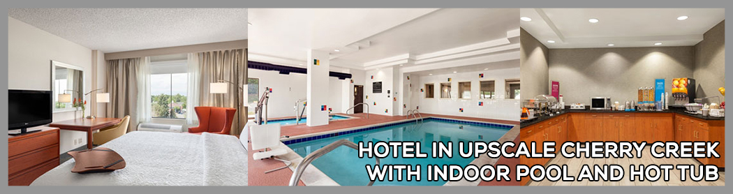 Home indoor pool and hot tub  Hotel in Upscale Cherry Creek with Indoor Pool and Hot Tub | Kush ...